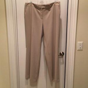 NWOT Calvin Klein Classic Fit Tan Dress Pants